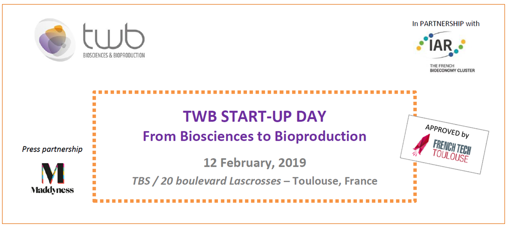 Start-up Day - From Biosciences to Bioproduction